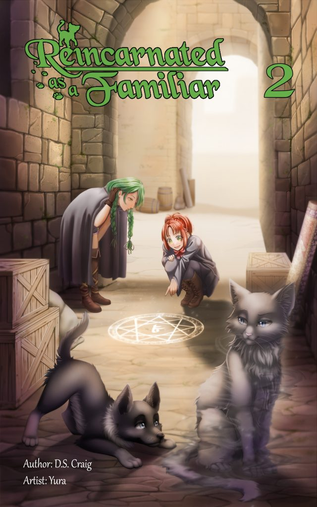Reincarnated as a Familiar Volume 2 Cover