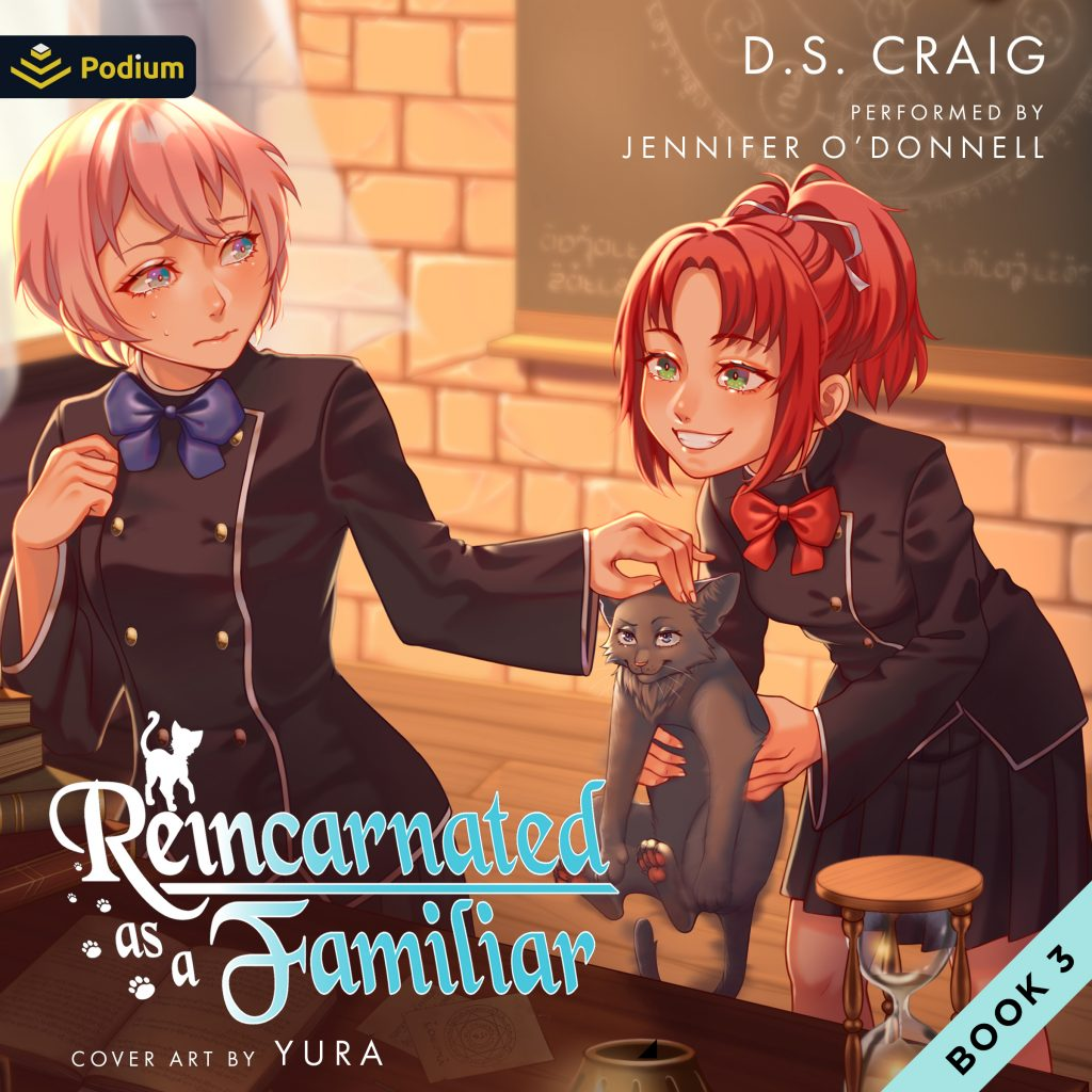 Reincarnated as a Familiar Volume 3 Audiobook Cover