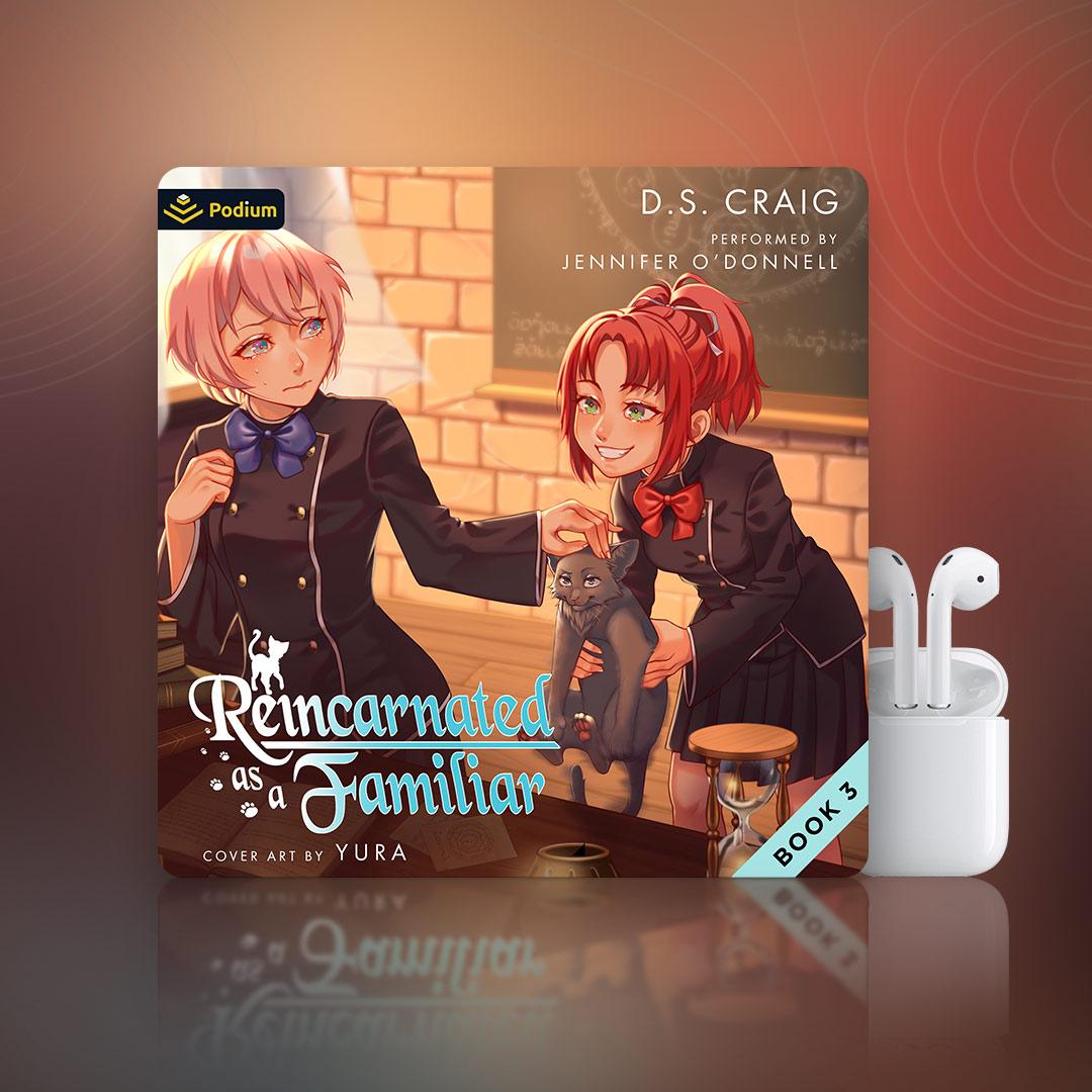 Reincarnated as a Familiar 3 – Clean Cover – 1×1